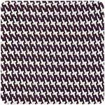Jacquard Tricot  Houndstooth